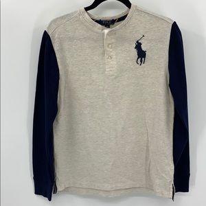 Boys Ralph Lauren Long Sleeve Hensley Shirt